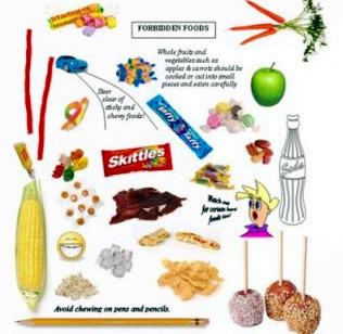 رژیم غذایی ارتودنسی